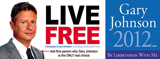 Présidentielle américaine : les succès de Gary Johnson