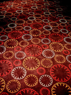 Gaumont logo on carpet by Julien Lozelli (CC BY 2.0)