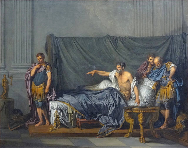 septime-severe-et-caracalla-de-jean-baptiste-greuze-by-gregory-lejeune-Domaine public