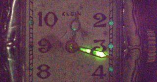 La montre radioactive de mon père