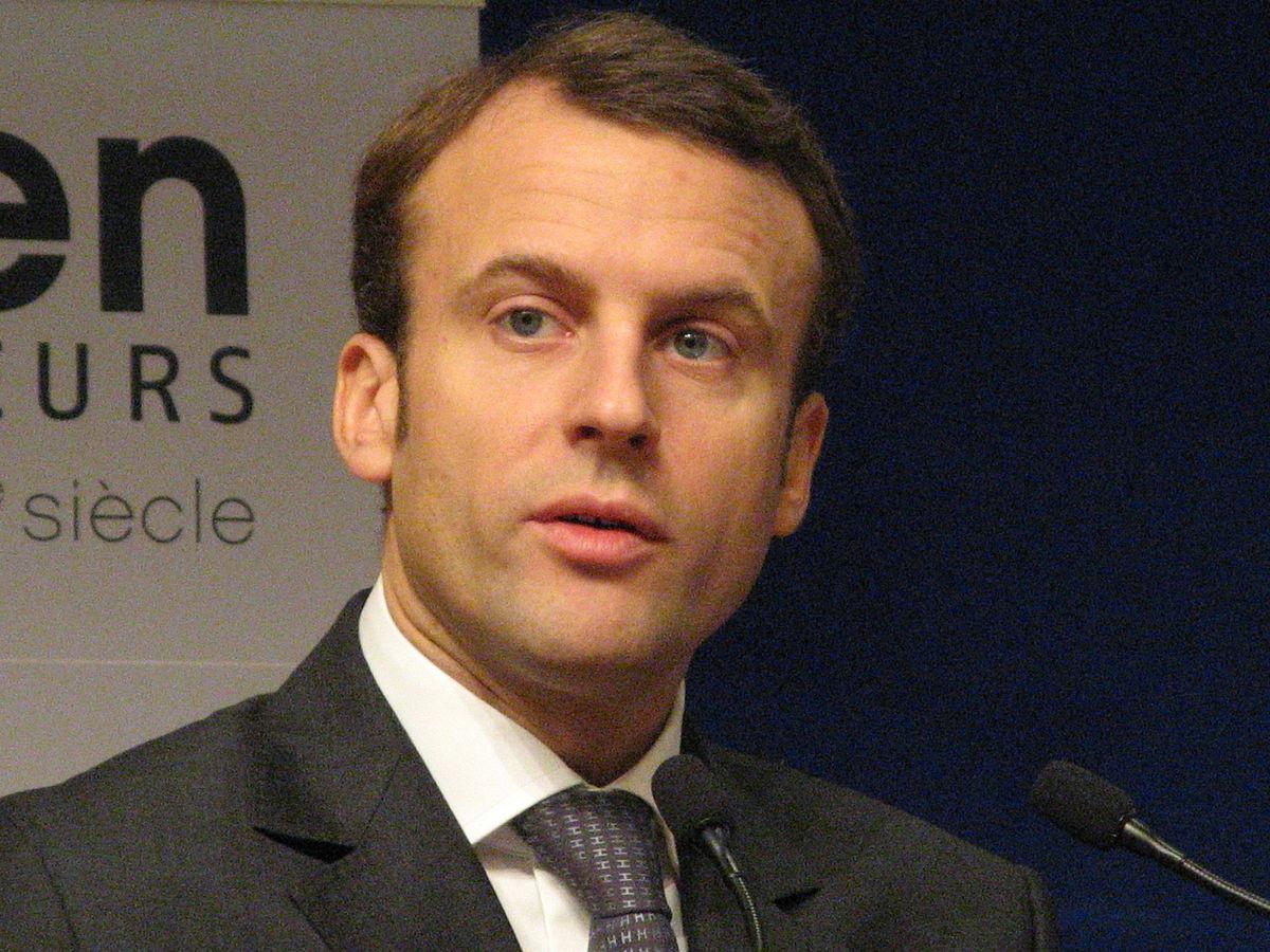 Emmanuel Macron (Crédits Copyleft, licence CC-BY 4.0)