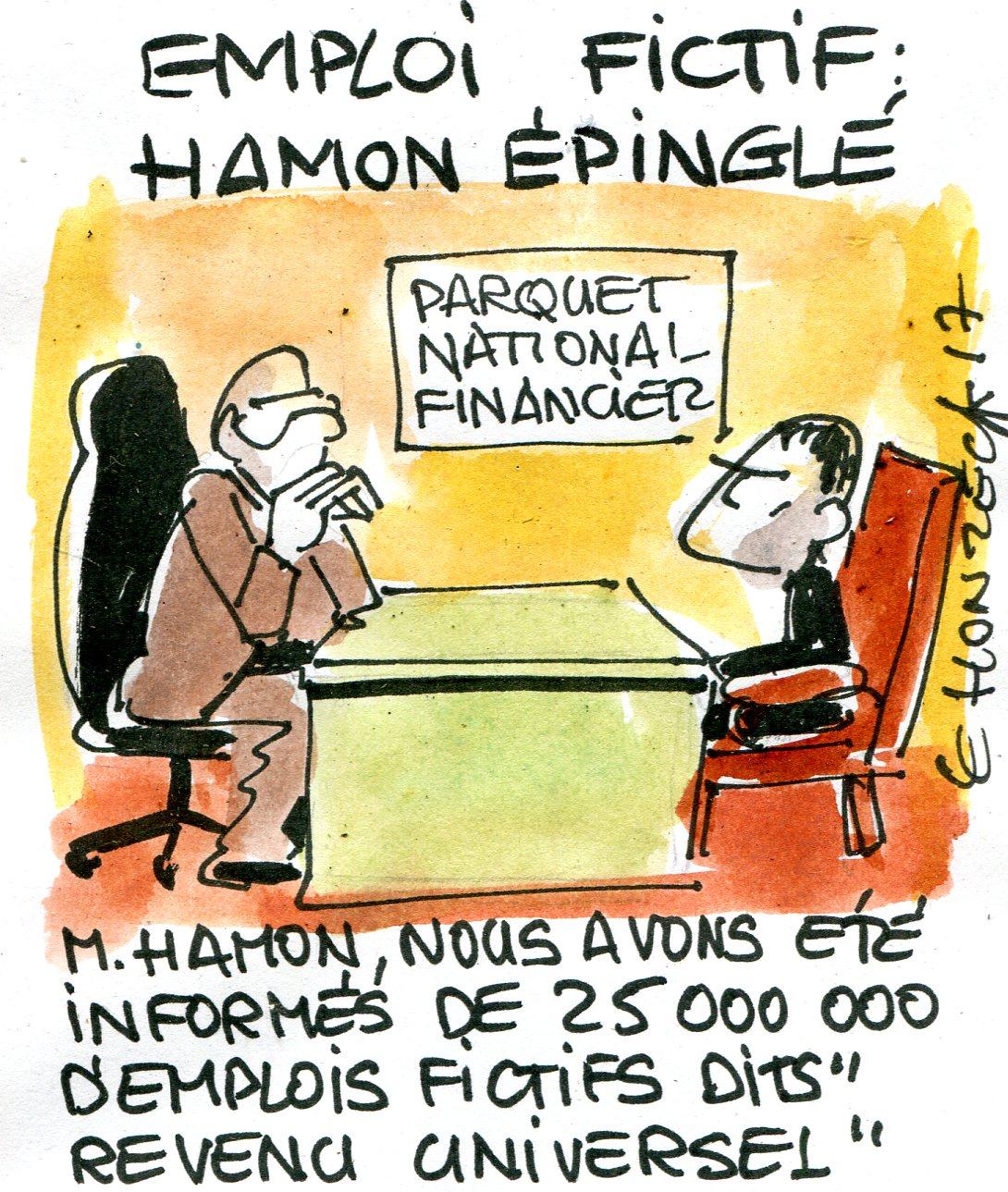 Emploi fictif Benoît Hamon (Crédits René Le Honzec & Contrepoints.org, CC-BY 2.0)