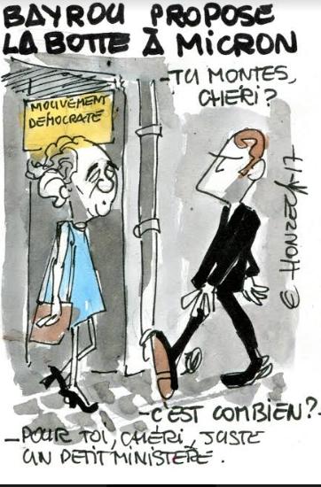 Rapprochement Bayrou - Macron !