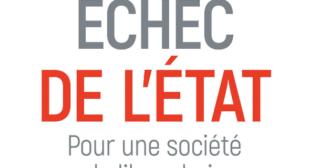 Échec de l'État, de Jean-Philippe Delsol et Nicolas Lecaussin