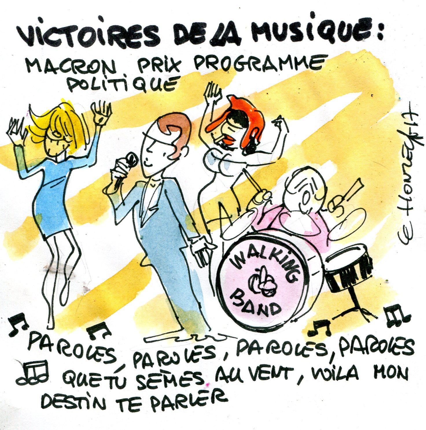 Programme d'Emmanuel Macron : paroles, paroles, paroles ? (Crédits : René Le Honzec/Contrepoints.org, CC-BY 2.0)