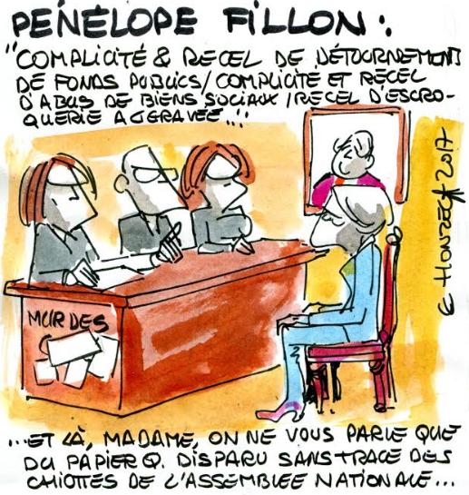 Pénélope Fillon mise en examen