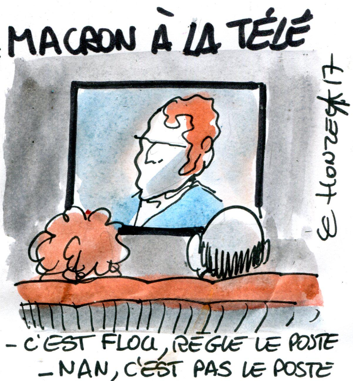 Emmanuel Macron cultive le flou (Crédits : René Le Honzec/Contrepoints.org, CC-BY 2.0)