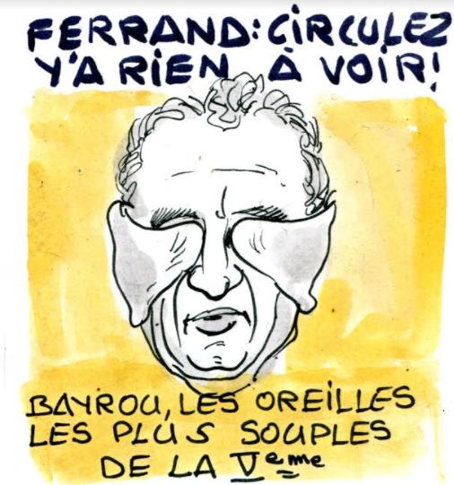 Affaire Ferrand : Bayrou prend position