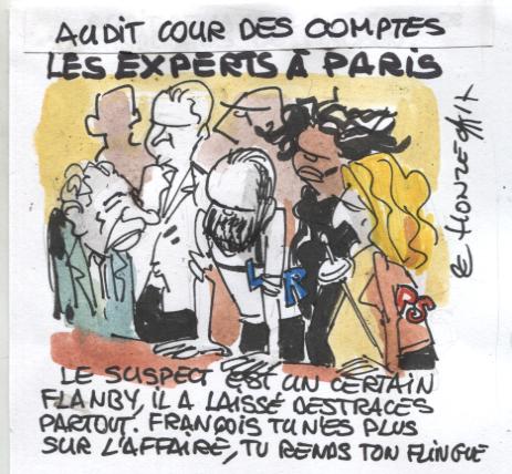 Cour des comptes : les experts à Paris