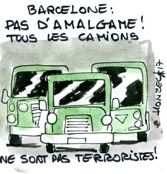 Barcelone : pas d'amalgame !