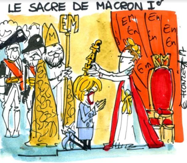 Brigitte sacrée par Emmanuel Macron