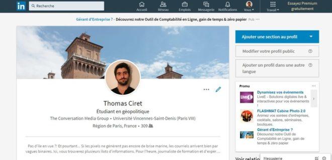 Avec les réseaux sociaux professionnels, la recherche d'emploi se transforme. LinkedIn, Author provided