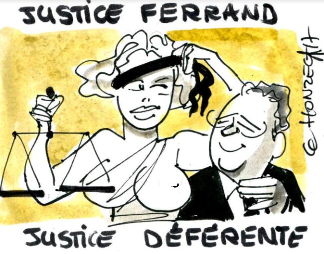 Ferrand devant la justice