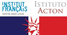 Logo Institut Francais Centre Saint Louis & Istituto Acton