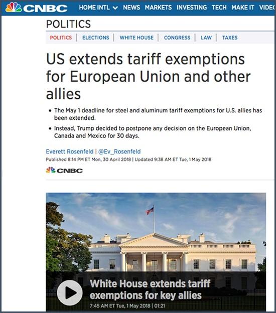 Guerre Commerciale Avec Les USA : C'est L'Europe Qui A