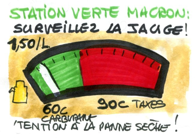 Station verte Macron : surveillez la jauge !