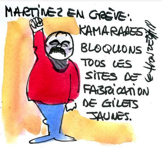 Gilets Jaunes : Martinez au taquet