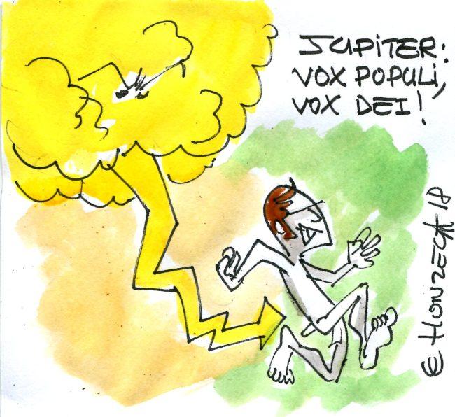Jupiter : vox populi, vox dei !