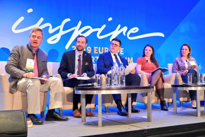 Tom Palmer, Marek Tatala, Thomas Palermo, Kate Andrews and Tanja Porčnik - Europe Liberty Forum Athens
