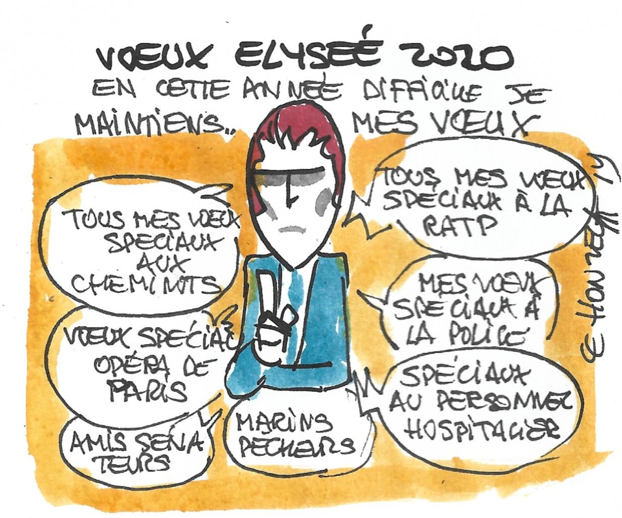 René Le Honzec voeux 2020