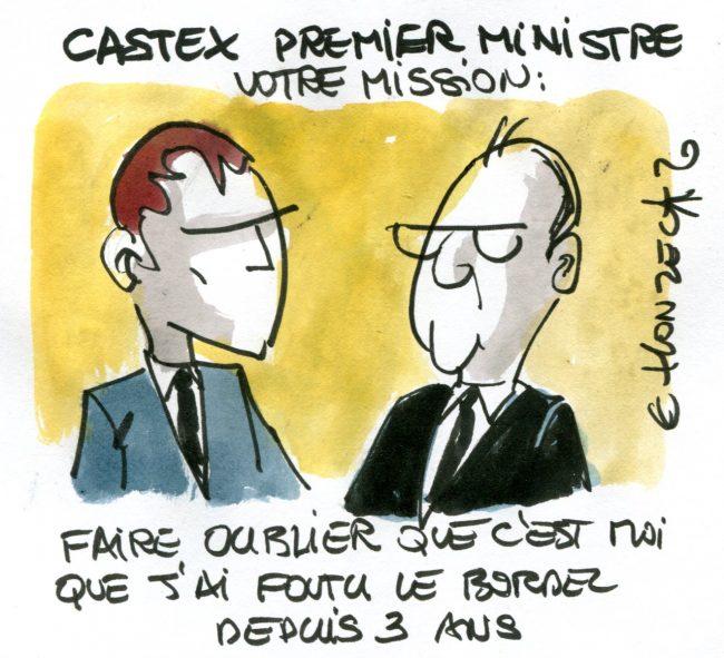 Castex : premier ministre