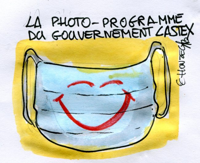 Photo-programme du gouvernement Castex