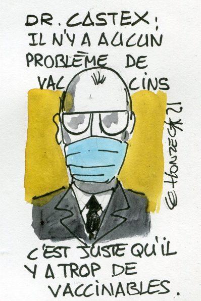 Dr Castex et les vaccins Covid-19
