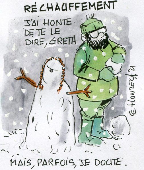 Greta et le réchauffement climatique